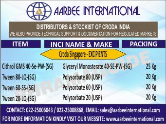 AARBEE INTERNATIONAL